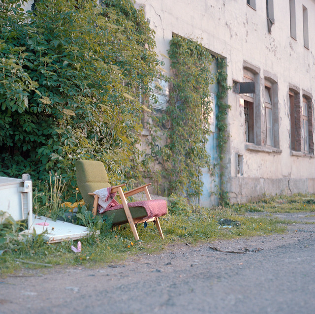 that's Prague 55 - homeless chairs
