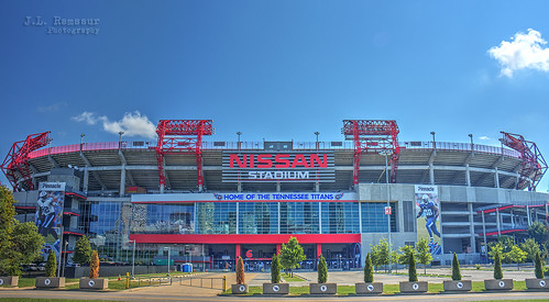 Nissan Stadium - Nashville, TN - Home of the Tennessee Titans