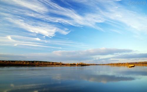 Kazimierski Park Krajobrazowy, Wisła jesienią  3