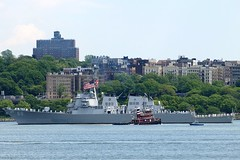 "USS THE SULLIVANS DDG 68 ""WE STICK TOGETHER"" US Navy Ship (2008 Fleet Week NYC) (jag9889) Tags: city nyc usa ny newyork us harlem manhattan navy destroyer week hudsonriver fl fleet 2008 uss 68 sullivans mayport ddg y2008 jag9889"