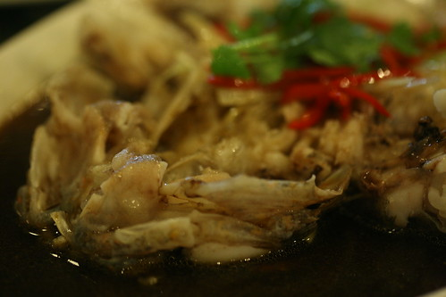 steamed fish in soy