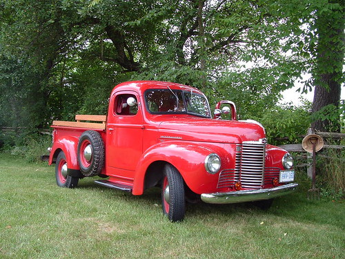 1949 INTERNATIONAL HARVESTER KB-1 HALF TON s - a photo on