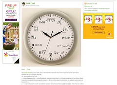 Geek Clock | Clock | Home_1243552336218