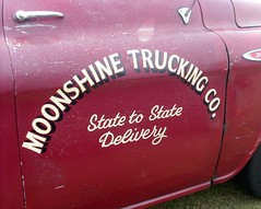 Moonshine Trucking (Abi Skipp) Tags: truck moonshine