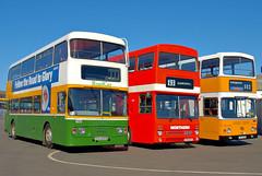 SCN 250S, UTN 501Y & JFT 413X (Kevnorth) Tags: bus buses delta gne northern northeast scania leyland metrobus roadcar mcw pte optare atlantean scn250s kevnorth g251 srgutn 501yjft 413x
