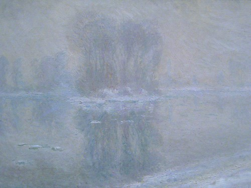 monet, ice floes
