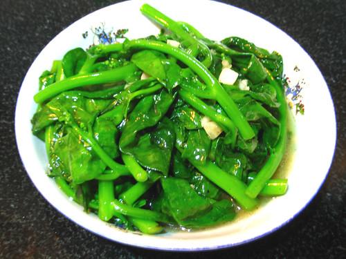 蒜茸炒孱菜 by you.