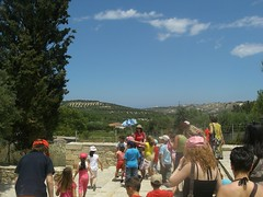 the scenery around knossos