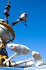 New Attraction - THE ROCKET MUMMIES (dogwelder) Tags: california sky june disneyland anaheim zurbulon6 underconstruction 2009 astroorbitor rocketjets testflight zurbulon foamsheets
