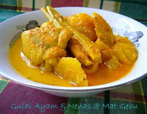 Gulai Ayam & Nenas