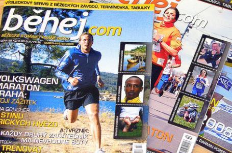Kde naleznete časopis Běhej?