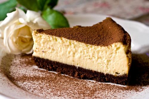 White cheesecake ovvero cheesecake al cioccolato bianco