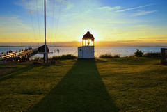 Sunset at Marken (hetty m) Tags: sunset zonsondergang vuurtoren marken noordholland