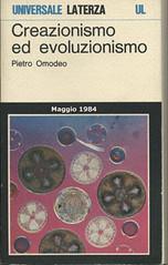 Creazionismo ed evoluzionismo