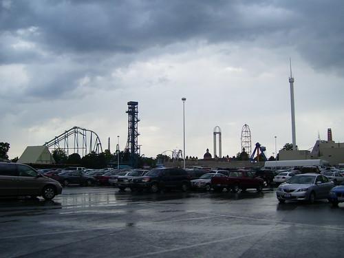Cedar Point - Parking Lot