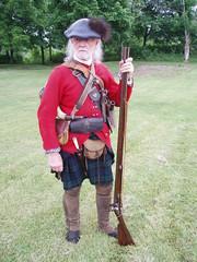 Fort Ti (snowshoemen) Tags: scottish soldiers british rangers reenactor reenactors redcoats 1700s ticonderoga reenacting musket 18thcent scotlandforever snowshoemen snowshoeman harmonssnowshoemen