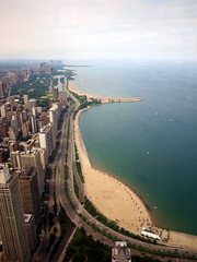 North of Hancock Tower (mdanys) Tags: city usa lake chicago us cityscape michigan osama shore soe blueribbonwinner danys abigfave platinumphoto mdanys