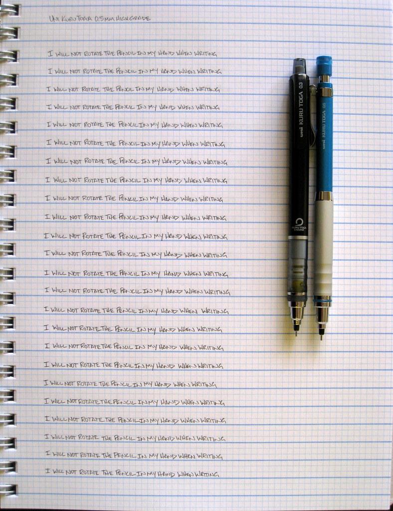 review uni ball kuru toga high grade 0 5mm the pen addict