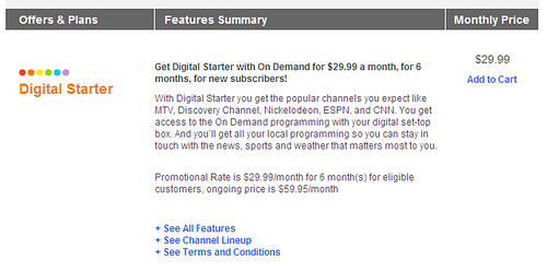 Dear Comcast: The Idea When You Bundle Is That People Are