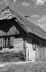 Stara lesena brunarica