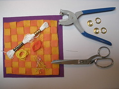 WIP - Checkerboard (Pictures by Ann) Tags: travel orange moon game classic wool yellow by work children book soft pattern child hand purple expression embroidery sewing creative harvest progress sew felt pins boredom needle memory mind buster etsy activity checkerboard embroidered tool challenge disease scissor grommet challenging oldfashioned floss grommets woolfelt tactile byhand alzheimer alzheimersdisease sensory harvestmoonbyhand busybook