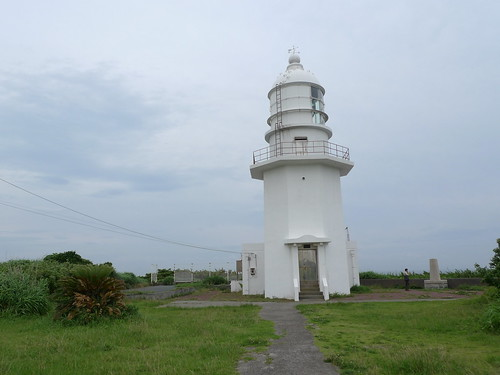 The Miurakaigan lighthouse