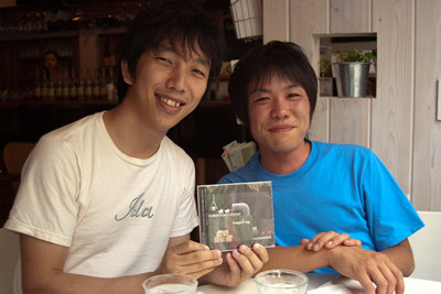 Shimaoka & Shimoji from magicfrog