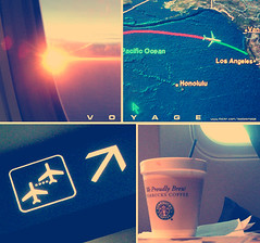 All journeys have secret destinations of which the traveler is unaware. (ShanLuPhoto) Tags: voyage travel light usa coffee sunshine sign plane fly airport map flight bored starbucks journey bonvoyage loolooimage