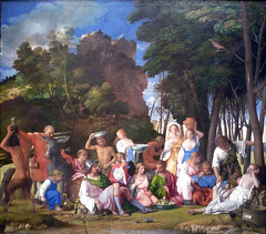 Giovanni Bellini and Titian, The Feast of the Gods