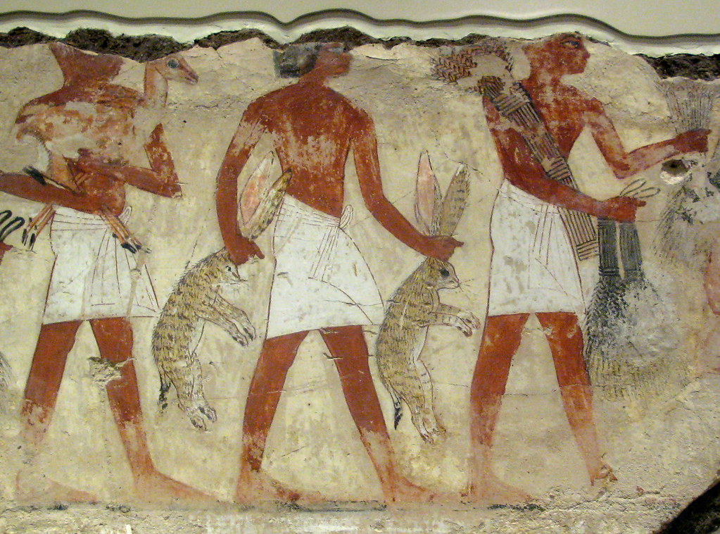 The world 39 s best photos of nebamun and painting flickr for Ancient egyptian tomb decoration