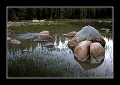 Eastern Sierra (MrBisaya) Tags: california lake grass rock pond boulder yosemite yosemitenationalpark easternsierra