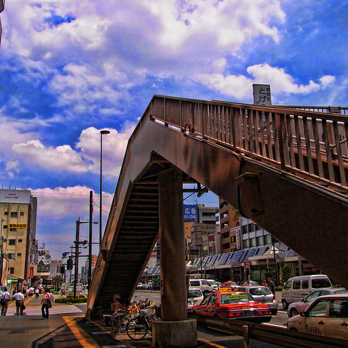 Viaduct in Sugamo