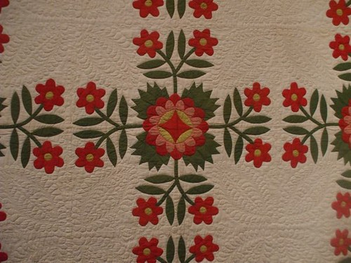 Whig Rose - Applique - circa 1830s-50s