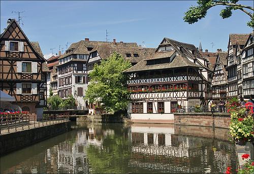 """""""Petite France"""" in Strasbourg by Martien@Arnhem."""