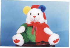 Urso Palhaço - G136 (Moldes videocurso artesanato) Tags: palhaço urso g136