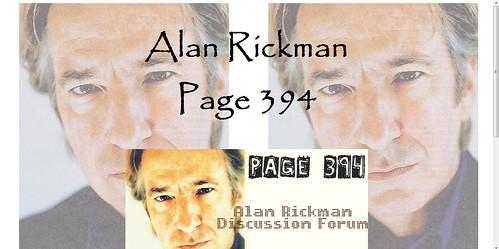 alan rickman papyrus