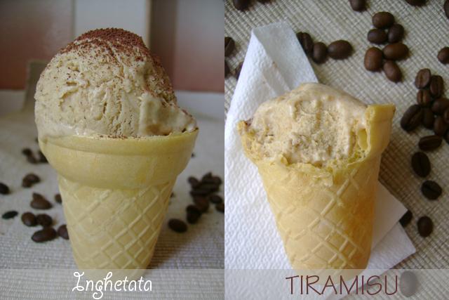 Articole culinare : Înghetata Tiramisù