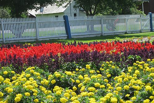 Zoar, Ohio Harvest Festival 2009:  Zoar Garden