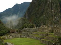 Peru Travel: The Machu Picchu Main Plaza