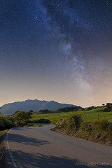 Via lactea en la carretera // Milky way on road (carloscASTROweb) Tags: sky mountains collage canon way stars spain long exposure space horizon jose carlos andalucia tokina via castro cielo estrellas montaje andalusia milky andalusien horizonte galaxia exposicion 1224 larga espacio profundo alandalus lactea 400d zafarraya espana alazores flickrestrellas montanas carloscastroweb meteoaxarquia axarmedios flickrunitedaward