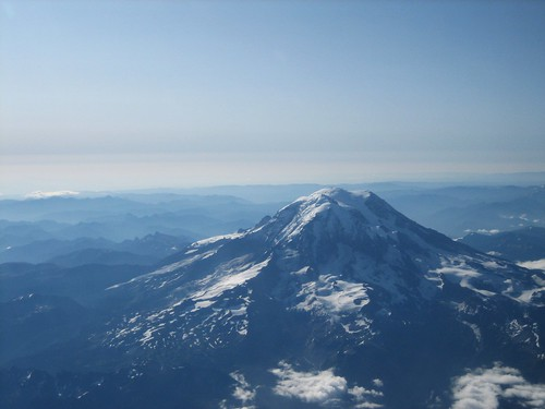 090816. mt. rainier from the plane.
