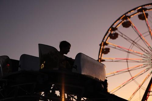 SImon on the coaster