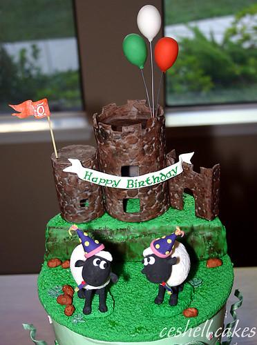 Irish Birthday Topper