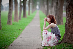IMG_0849-Edit (Joseph Lu.) Tags: portrait girl beauty canon model pretty  gail sweety nantou  ef85mmf12liiusm  taiwanadventistcollege eos5dmarkii