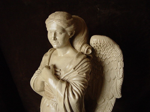 Ancient Guardian Angel Sculpture by Vicon Eco Systems Construction, on Flickr