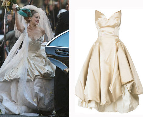 vivienne westwood wedding dress sex and the city movie. Vivienne Westwood Wedding Gown
