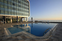 just a great weekend (AgusValenz) Tags: sky pool swimming cielo renaissancehotel centralasia kazakhstan 1022mm marriot aqtau eurasia aktau