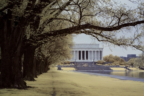 Washington D.C. - Jefferson Memorial Infrared