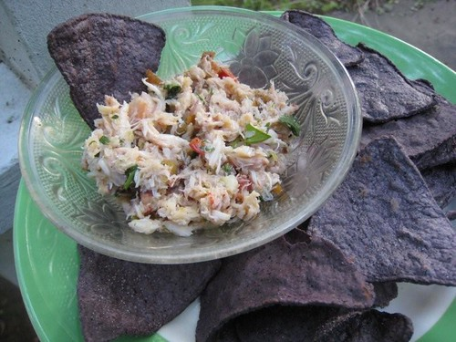 crab salsa