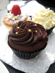 Chocolate Cupcake with Caramel Centre